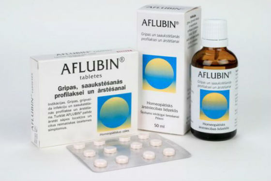 Афлубин для лечения и профилактики вирусных болезней