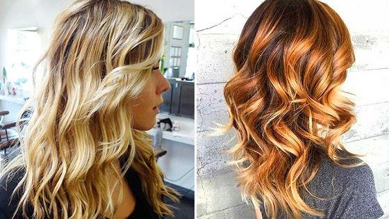 Огненные блики в волосах