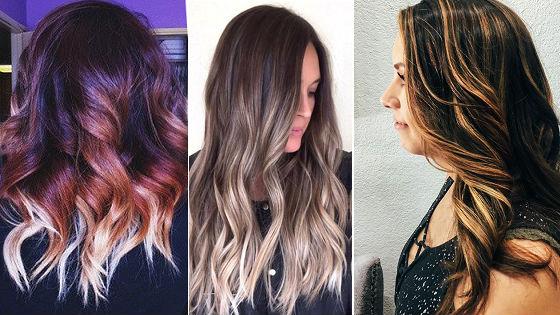 Оригинальные техники для темных волос