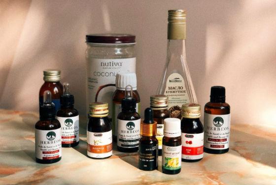 Масляная база и эфиры для приготовления составов от целлюлита