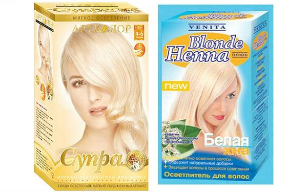 Супра и белая хна для окрашивания волос самостоятельно