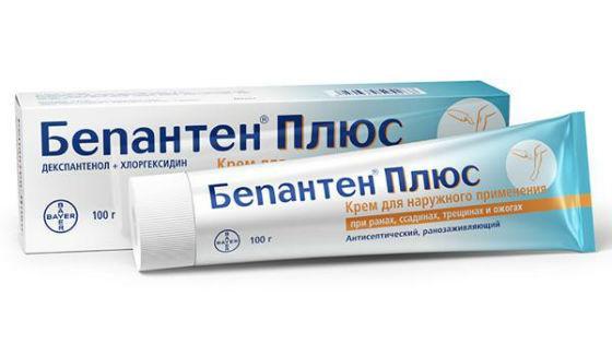 Крем и мазь бепантен для лечения и профилактики потнички