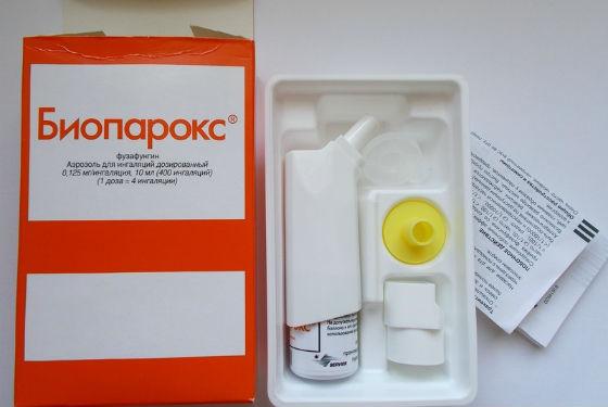 Антибактериальный препарат Биопарокс
