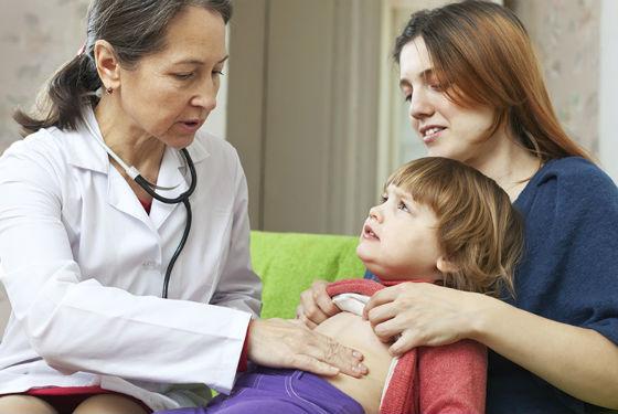 Острая боль в животе из-за увеличения лимфоузлов в брюшной полости