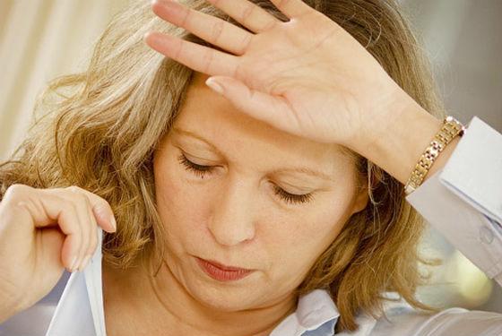 Ощущение жара в период менопаузы