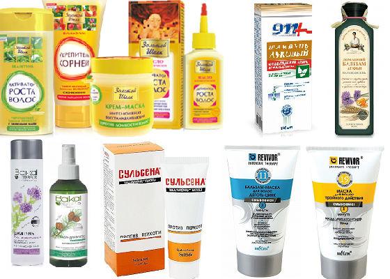 Недорогие средства на основе трав для ухода за кожей головы