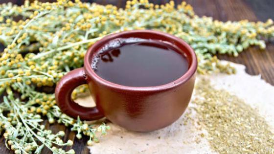Чай из полыни как средство для лечения гельминтоза