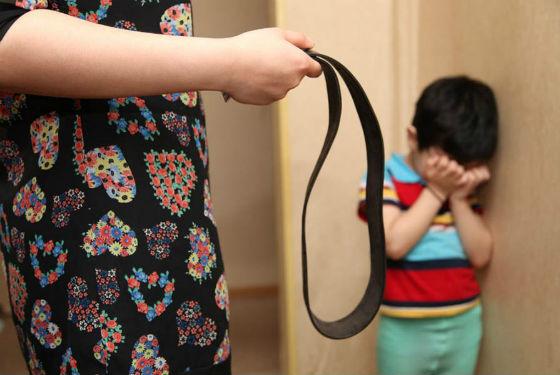 Нельзя наказывать и бить детей