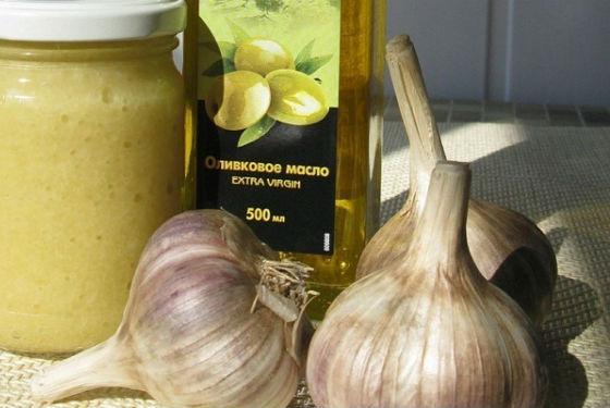 Приготовление чесночного масла от гельминтов