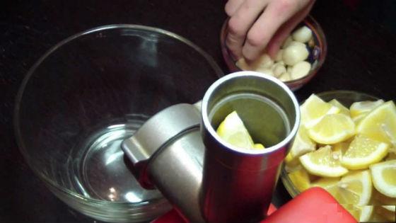 Чесночно-лимонный состав для очищения сосудов