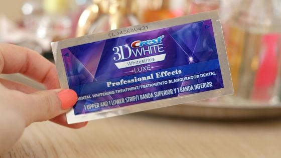 Отбеливающие полоски Crest 3d White Whitestrips удобны в использовании
