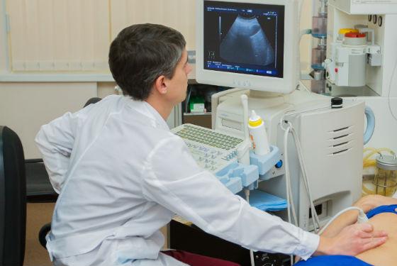 УЗИ для диагностики лютеиновой кисты яичника