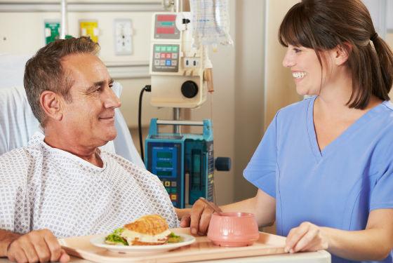 Питание в стационаре для предотвращения рецидивов