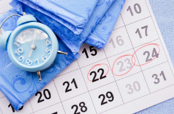 Как посчитать сколько дней цикл месячных