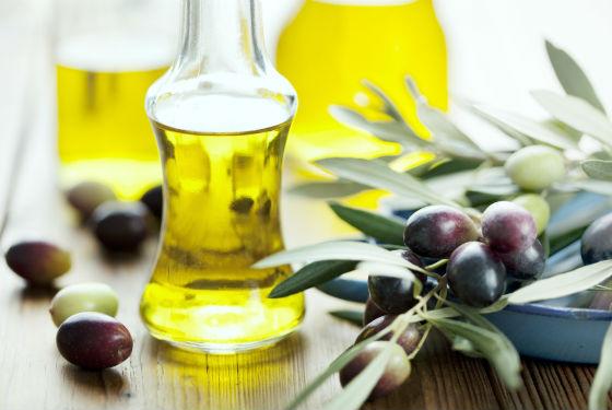 Оливковый продукт для оздоровления кожи головы