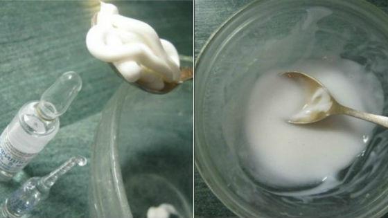 Приготовление домашнего крема с аминофиллином