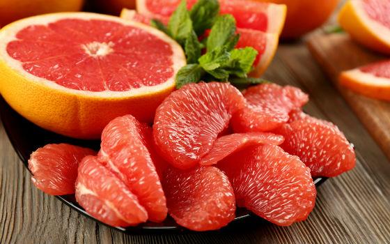Грейпфрут как основной фрукт звездной диеты