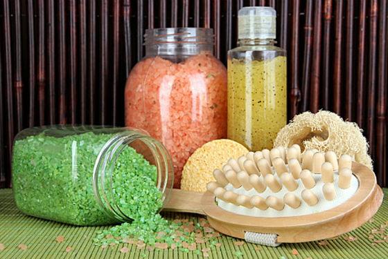Домашние средства готовят из морской соли