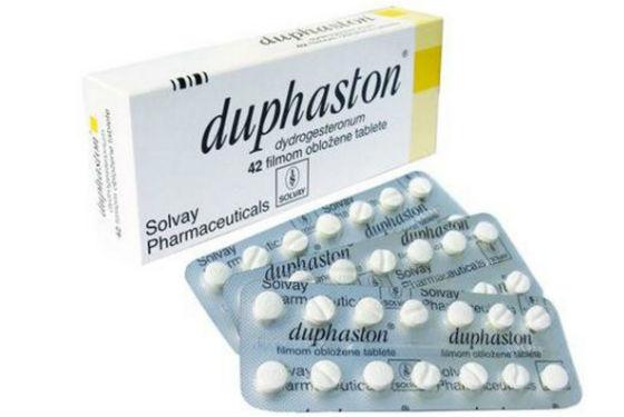 Дюфастон содержит синтетический прогестерон