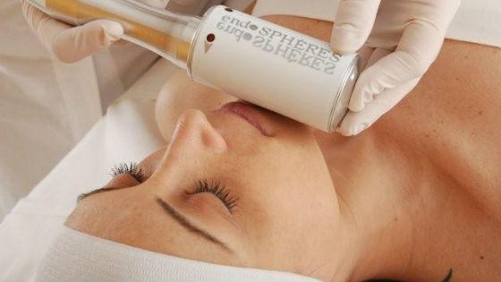 Эндосферный массаж на лице