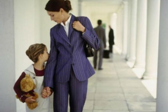 Пережить развод поможет сконцентрированность на ребенке