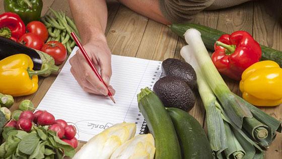 Похудение на овощах и несладких фруктах