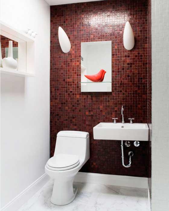 Дизайн в красно-белом стиле