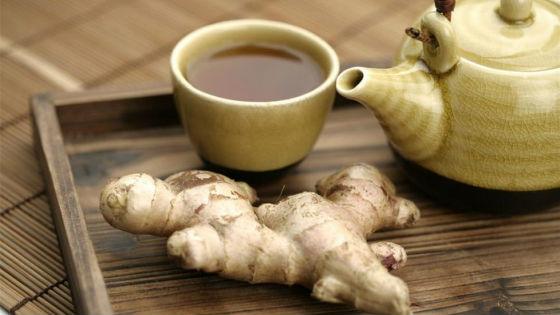 Чай с имбирем для предотвращения и лечения простуды