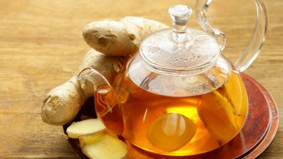 Чай с имбирем для очищения