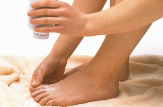 Средства для растирания ступней при их переохлаждении