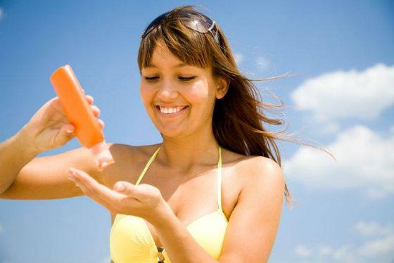 Защита груди от прямых солнечных лучей