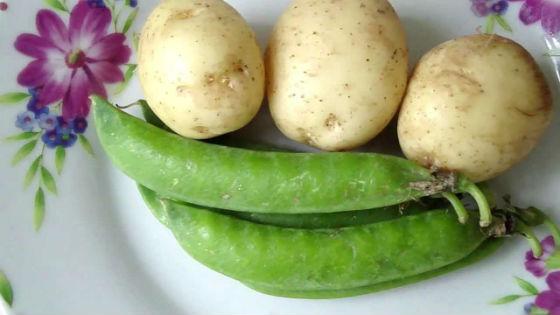 Картофель отлично сочетается с другими овощами