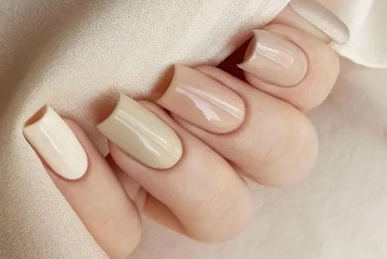 Классический на длинные ногти