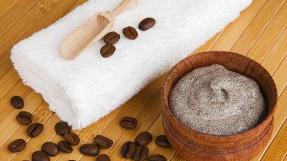 Скраб для кожи из молотого кофе