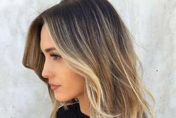 Покраска волос бликами подходит практически всем женщинам