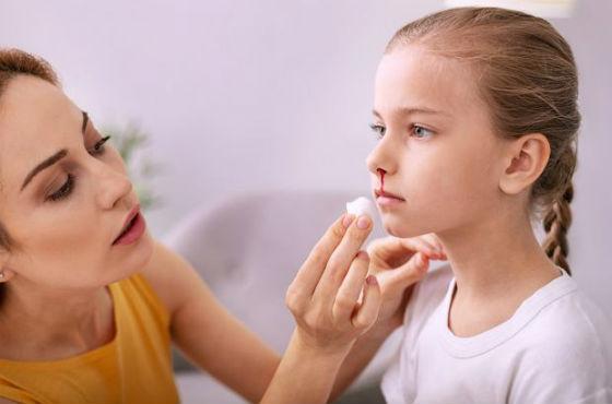 Почему идет кров носом у детей