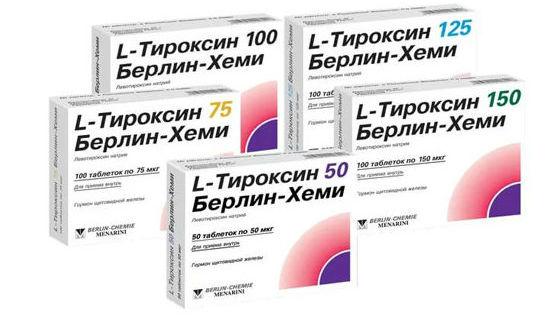 Л-тироксин для восстановления гормонального фона