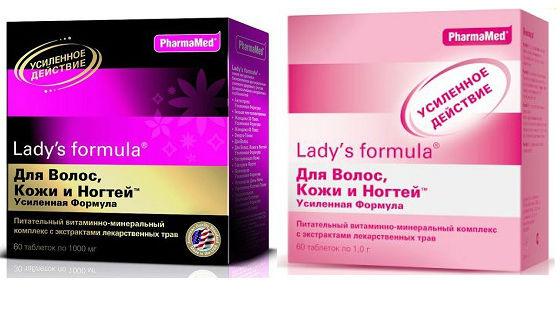 Lady's formula для кожи и ногтевых пластин