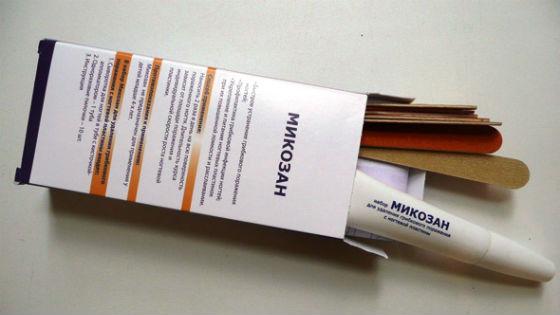 Антимикотическое средство Микозан