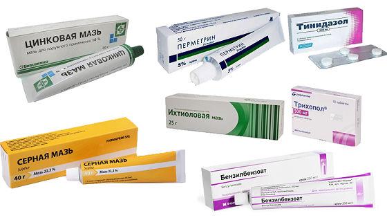 Мази и таблетки для комплексной противоклещевой терапии