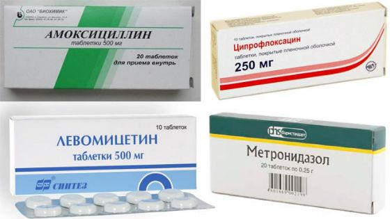 Лечение воспаления слизистой оболочки матки антибиотиками