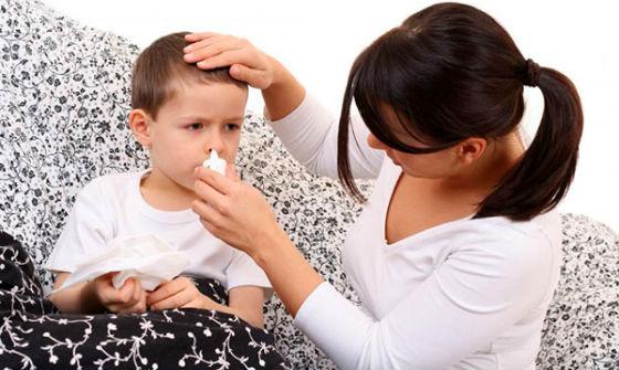 Закапывание носа при гайморите