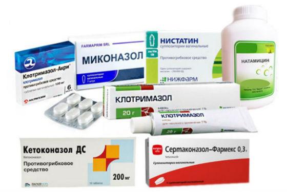 Препараты для лечения генитального кандидоза