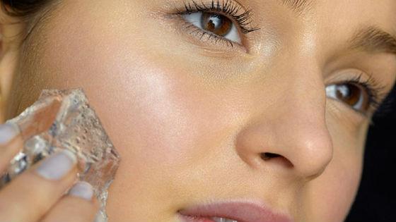 Домашняя криотерапия кожи вокруг глаз