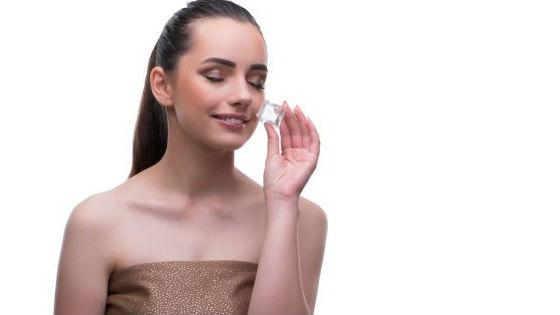 Домашняя криотерапия для удаления мешков под глазами