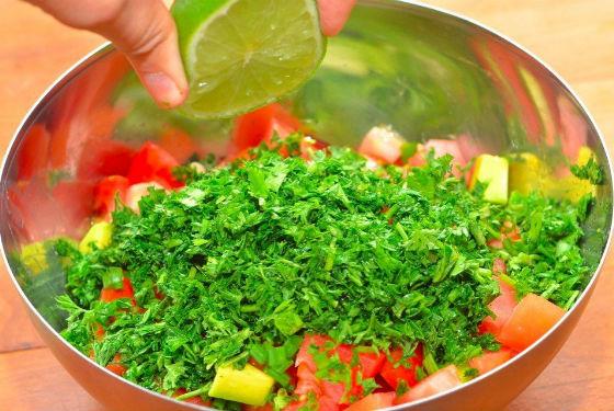 Сок лимона для заправки салата вместо масла