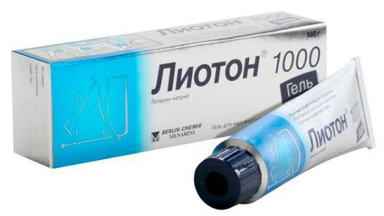 Лиотон для лечения варикозного расширения