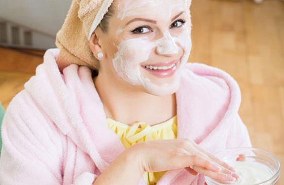 Маска из йогурта для гладкой кожи
