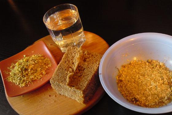 Хлебные составы на ромашковом отваре