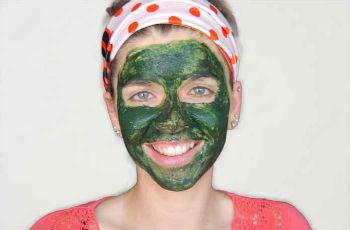 Спирулина для лица  как делать маски в домашних условиях